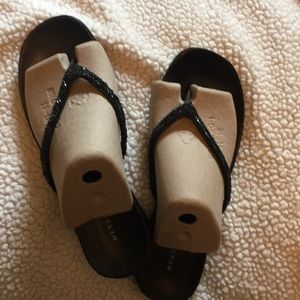 Women's Merona beaded sandals, size 11